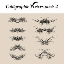 Calligraphic Vectors Pack 2
